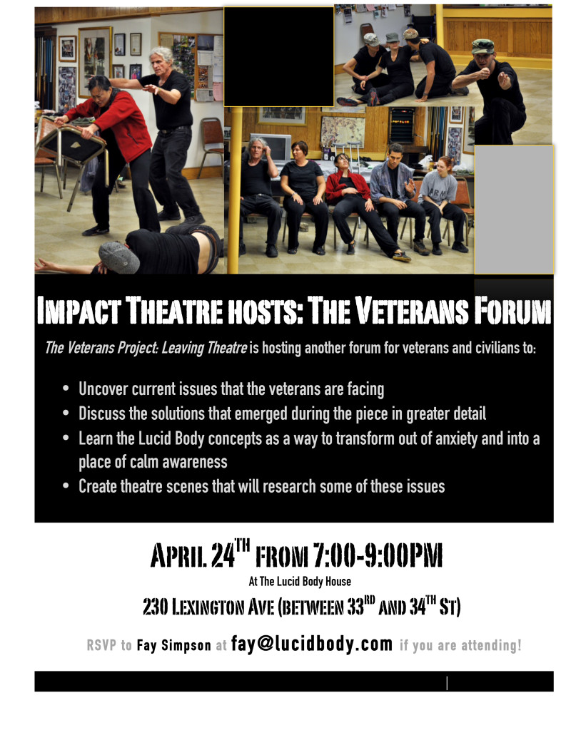 Veterans Forum 4.24 Flyer