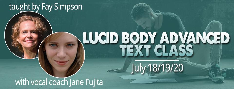 Lucid Body Advanced w/ Fay Simpson