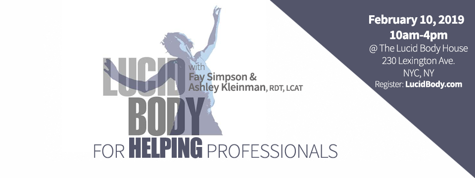 The Lucid Body for Helping Professionals