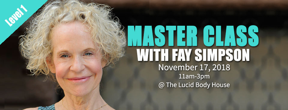 Master Class with Fay Simpson